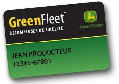 GreenFleet récompense fidélité