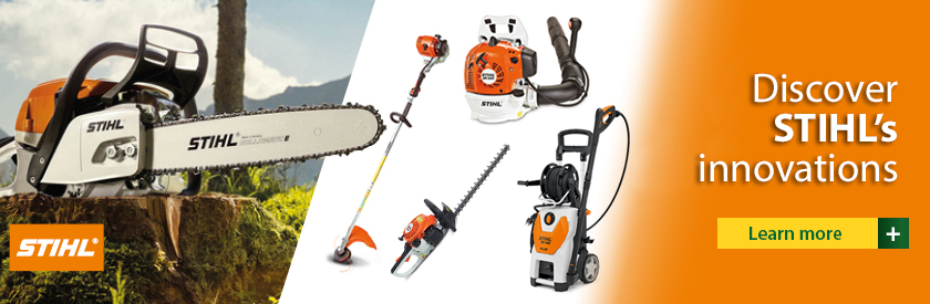 Discover the innovation by STIHL