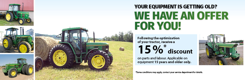 15 years old equipment - we have an offer for you