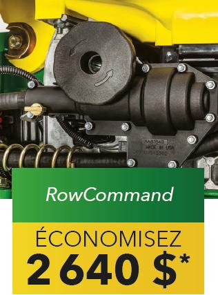 Row Command économisez