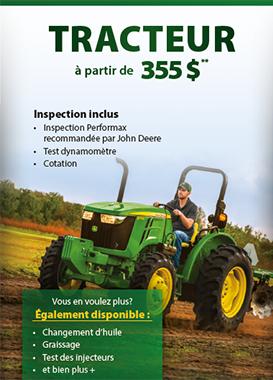 Inspection de tracteur