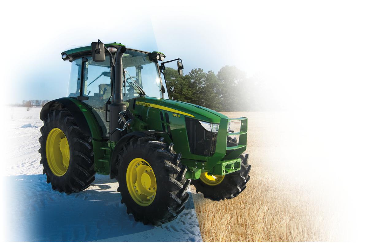 NOUVEAUX Tracteur 5R / NEW 5R Tractor