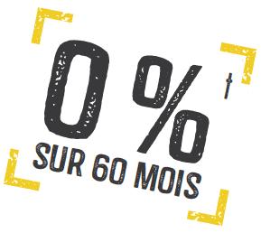 0% sur 60 month