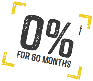 0% for 60 months