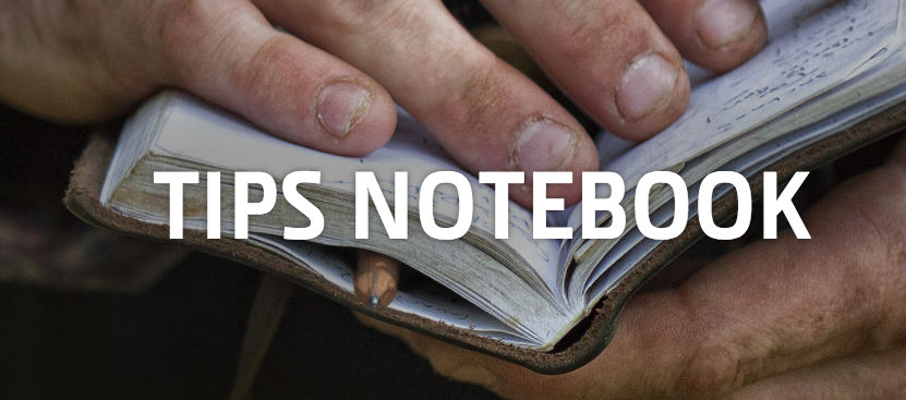 Tips notebook