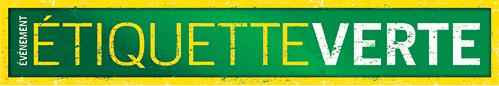 étiquette verte