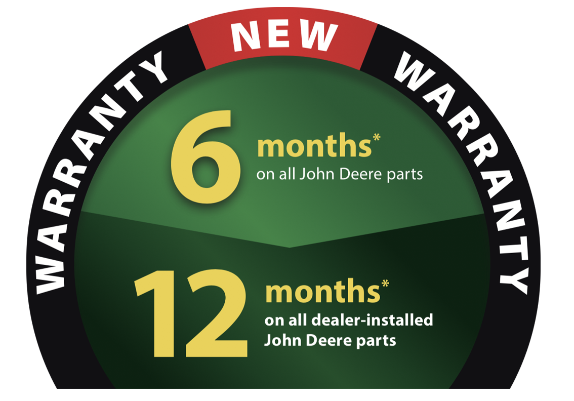 Parts and service warranty