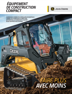 Equipement construction compact