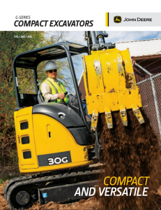 excavator brochure