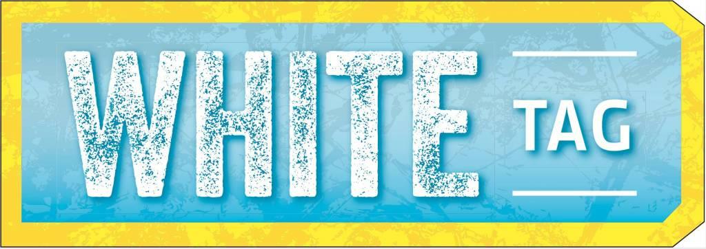 white tag logo
