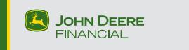Logo John Deere financial