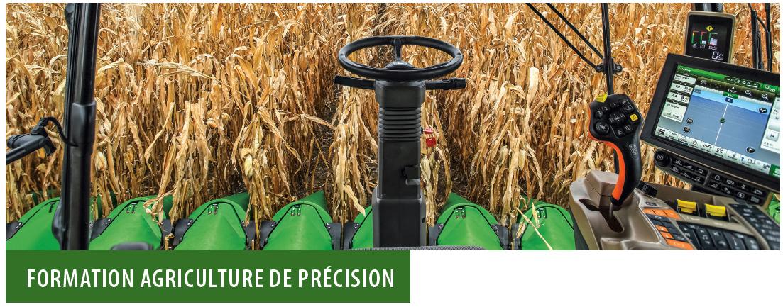 Formation agriculture de precision